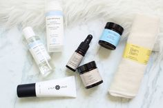 TOMORROW AT DAWN: First Organic Beauty Haul