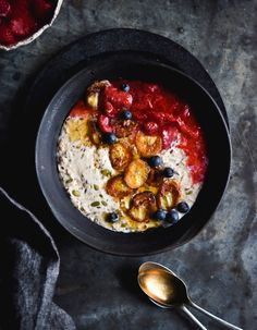 » Gluten free vegan bircher (with grain free option)