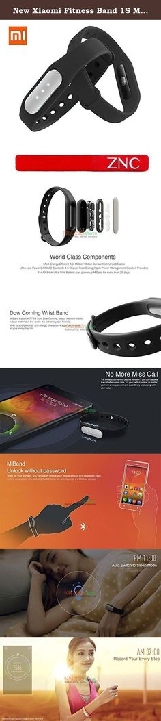 New Xiaomi Fitness Band 1S Mi Band Pulse with Heart Rate Monitor Wearable Tracker Smartband + ZNC® Cable Tie (Free Gift). Specification Model: XMSH02HM Battery Type: Li-Poly 45mA(TYP) Input Power: DC 5V/25mA Waterproof: YES, IP67 (Can be used for swimming, bath) OS Requirement: MIUI V5,V6 (Android 4.4 or above) Compatible Phone: Xiaomi MI4, Mi3, RedMi Note 4G Compatible OS: iOS and Android Language: English/Chinese Sensor Size: 36*14*9mm Wrist Band Length: 230mm What's included 1pc Xiaomi…