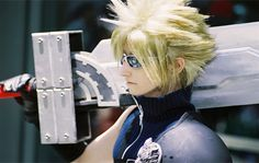 Cloud cosplay. Well fucking done!
