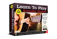 Learn to Play The Acoustic Guitar @ Sharper Image