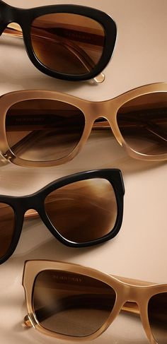 Trench Collection sunglasses inspired by the iconic Burberry coat
