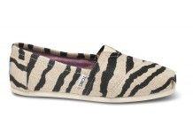 TOMS Online Exclusives Shoes   TOMS.com...Zebra Print!