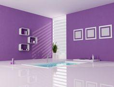 Como Decorar Un Baño En Color Morado.  Para decorar el cuarto de baño con un estilo moderno y lleno de elegancia, que mejor idea que hacer uso del color morado, ya que este es un color que represente bastante calma, sosiego, protección y elegancia. Se ... Ver más aquí: https://banosmodernos.com/como-decorar-un-bano-en-color-morado/