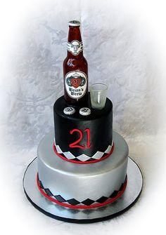 very guy-y cake