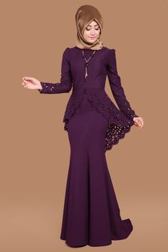 Muslim Dress, Dress for hijab Batik Fashion, Abaya Fashion, Muslim Fashion, Fashion Dresses, Hijab Evening Dress, Hijab Dress Party, Evening Dresses, Pretty Dresses, Beautiful Dresses
