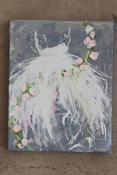 original tutu roses ballerina ballet dress old by fadedwest
