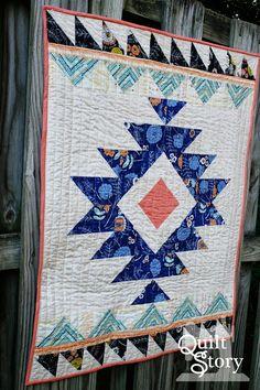 Quilt Story: Urban Aztec: New Quilt from Meg!