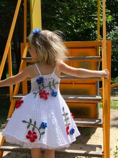 Croche pro Bebe: Vestidos em croche                              …