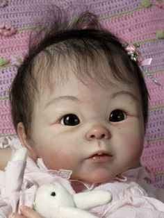 Rina, by Michelle Fagan - A Reborn Kit -- Comes unpainted and ...