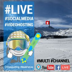 Live Stream, Youtube, Channel, Social Media, Facebook, Twitter, Movies, Movie Posters, Swiss Alps
