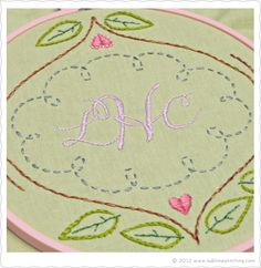 Sublime Stitching - embroidery blog and shop with helpful how-to videos