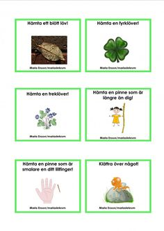 Discover recipes, home ideas, style inspiration and other ideas to try. Math For Kids, Games For Kids, Crafts For Kids, Educational Activities For Kids, Nature Activities, Sign Language Book, Learn Swedish, Swedish Language, Autumn Crafts