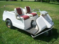 Gas Golf Cart Repair | Harley Davidson Gas Golf Cart Mid 60s Vintage Car for Parts or Repair ...