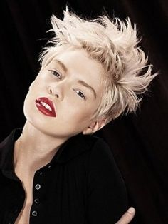 Short Blonde hairstyle 2013