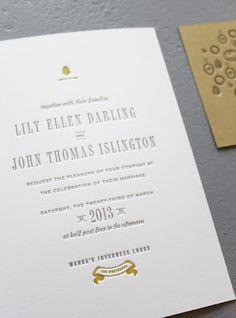 潔白風格的婚卡設計 | MyDesy 淘靈感