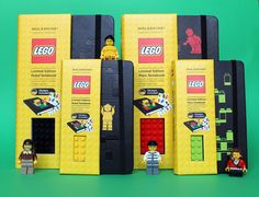 ✝☮✿★ LEGO LOVE ✝☯★☮ Moleskine meets LEGO
