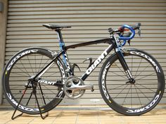 GIANT TCR ADVANCED 2 GOTTERBAUMさんの This is my bike!! | cosmic carbon sle ¥248,000込