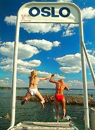 Die Sommer in Oslo sind manchmal heiß – die nächste Badegelegenheit ist aber nie weit - Foto: Nancy Bundt/VisitOSLO