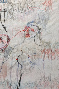 Alice Kettle l'O pétille: Do you know what contemporary embroidery looks like?
