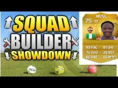 "FIFA 15 EPIC SQUAD BUILDER With Musa ""Cup Winners"""