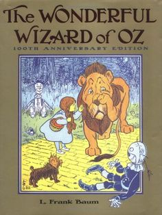 """KANSAS: """"The Wonderful Wizard of Oz"""" by L. Frank Baum. There's no place like the Great Kansas Plains. Baum's imaginative tale of Dorothy Gale from Kansas and her Scarecrow, Tin Man, and Cowardly Lion friends was the best-selling children's story of the 1900 Christmas season and spawned the 1939 film """"The Wizard of Oz."""""""
