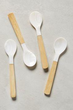 Anthropologie Merienda Flatware #anthrofave contemporary scandi chic minimalist cutlery set