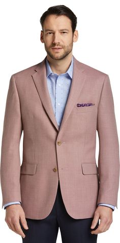 25bf3cf6219 Signature Collection Tailored Fit Textured Weave Sportcoat CLEARANCE