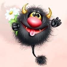 Cartoon Monsters, Cute Monsters, Little Monsters, Cute Cartoon Drawings, Animal Drawings, Funny Happy Birthday Song, Cute Fantasy Creatures, Emoji Love, Good Morning Funny