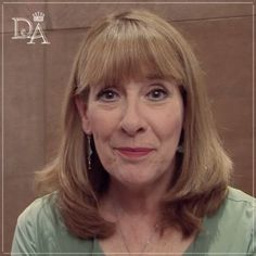 mrs hughes, Phyllis Logan, previously played Lady Jane on Lovejoy