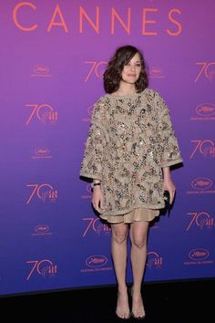 Actress Marion Cotillard attends the Opening Gala dinner during the 70th annual Cannes Film Festival at Palais des Festivals on May 17, 2017 in Cannes, France.