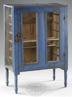 I really want a pie safe for no particular reason. This one is nice: Mid-19th century pie safe