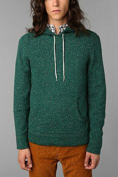 Koto Flecked Hooded Pullover Sweater - Urban Outfitters ($20-50) - Svpply