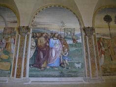 Frescoes in Sant' Anna by Florence3, via Flickr