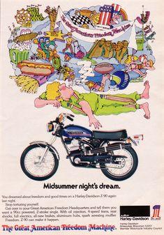 A Midsummer night's dream - Harley Davidson advertisement.