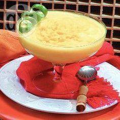 Receita de sorvete caseiro de manga com limão