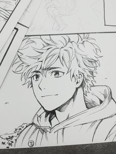 Manga Drawing Ideas Gwapooo *u* Anime Drawings Sketches, Anime Sketch, Cute Drawings, Manga Art, Anime Art, Manga Drawing Tutorials, Drawing Ideas, Boy Sketch, Character Drawing