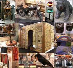 The Decorative Fair, April 2014 - other exhibitor stand displays [AntikBar.co.uk]