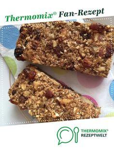 Müsliriegel von dorena75. Ein Thermomix ® Rezept aus der Kategorie Backen süß auf www.rezeptwelt.de, der Thermomix ® Community.
