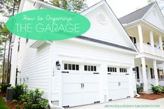 How to organize the garage | I need to do this when it gets warmer out.. ugh