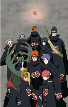 Whos your favorite Akatsuki member? Naruto Vs Sasuke, Naruto Uzumaki Shippuden, Naruto Shippuden Sasuke, Naruto Sippuden, Naruto Cute, Minato Kushina, Otaku Anime, Anime Manga, Deidara Wallpaper