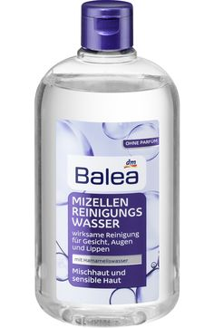 Mizellenwasser Mischhaut und sensible Haut DM €2,95