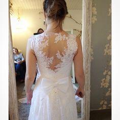 Última prova da nossa noivinha Raquel Holler. Wedding Dress Atelier Carla Gaspar.