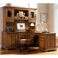 study riverside woodlands oak lshaped desk with hutch canyon oak