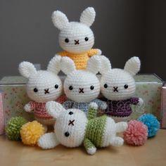 Baby Bunny Crochet Pattern por LuvlyGurumi en Etsy