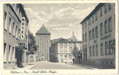 Pocztówka wysłana z poczty polowej w 1940 roku.