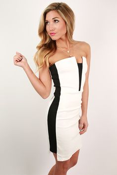 Cocktails Crush Dress in White