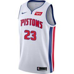 c1ec04ef7e63 Detroit Pistons Nike Youth Icon White Swingman Jersey  23 Griffin