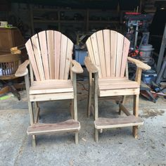 Hi there, I previously purchased the tall Adirondack chair plans and love them. They aren't perfect but I'm getting better. They are surprisingly comfortable to sit in. Thanks again. Carl Budelsky Adirondack Chair Plans, Adirondack Furniture, Furniture Plans, Color Schemes, Woodworking, How To Plan, R Color Palette, Colour Schemes, Carpentry