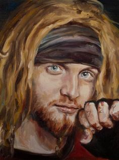 Portrait of Layne Staley by randombunnies on deviantART